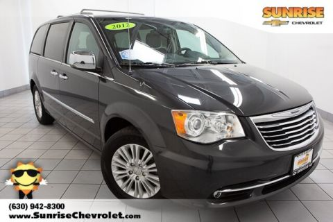 Pre-Owned 2012 Chrysler Town & Country Limited FWD 4D Passenger Van