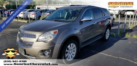Pre-Owned 2011 Chevrolet Equinox LTZ FWD 4D Sport Utility