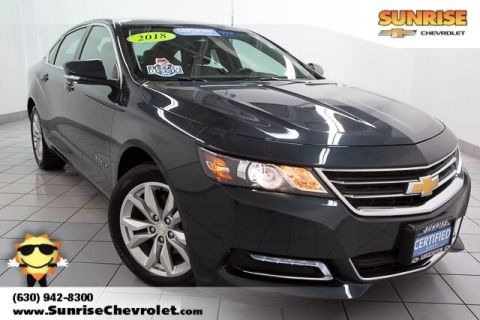 Certified Pre-Owned 2018 Chevrolet Impala LT FWD 4D Sedan
