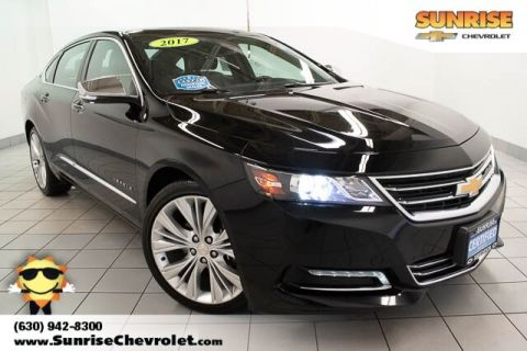 Certified Pre-Owned 2017 Chevrolet Impala Premier With Navigation