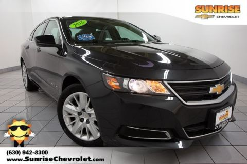 Certified Pre-Owned 2015 Chevrolet Impala LS FWD 4D Sedan