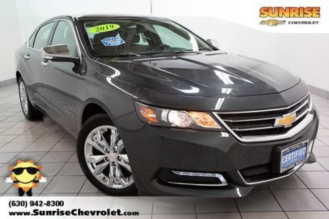 Certified Pre-Owned 2019 Chevrolet Impala LT FWD 4D Sedan