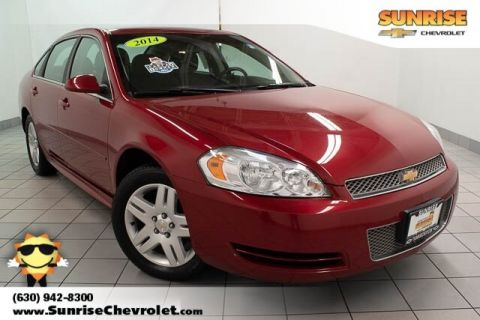 Pre-Owned 2014 Chevrolet Impala Limited LT FWD 4D Sedan
