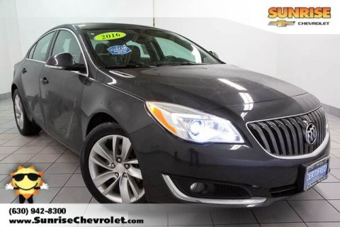 Certified Pre-Owned 2016 Buick Regal Premium II With Navigation & AWD