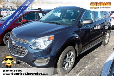 Certified Pre-Owned 2017 Chevrolet Equinox LS FWD 4D Sport Utility
