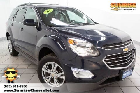 Certified Pre-Owned 2017 Chevrolet Equinox LT With Navigation