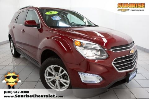 Certified Pre-Owned 2017 Chevrolet Equinox LT FWD 4D Sport Utility