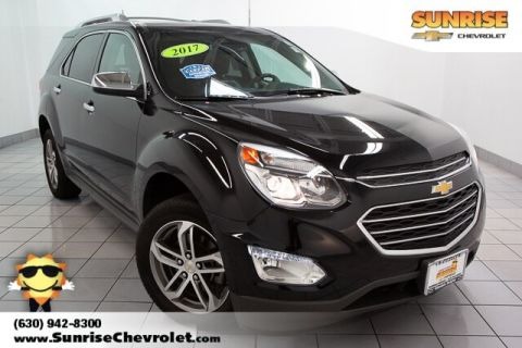 Certified Pre-Owned 2017 Chevrolet Equinox Premier With Navigation