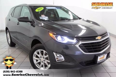 Certified Pre-Owned 2018 Chevrolet Equinox LT AWD