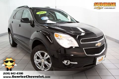Certified Pre-Owned 2015 Chevrolet Equinox LT FWD 4D Sport Utility