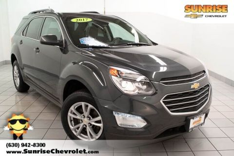 Certified Pre-Owned 2017 Chevrolet Equinox LT With Navigation & AWD