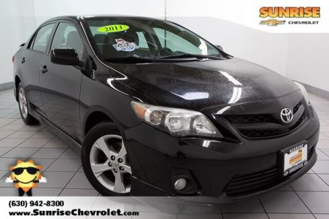 Pre-Owned 2011 Toyota Corolla S FWD 4D Sedan