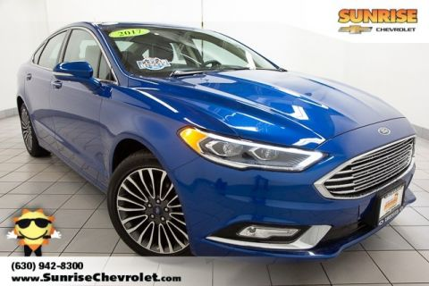 Pre-Owned 2017 Ford Fusion SE AWD