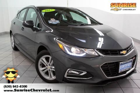 Certified Pre-Owned 2017 Chevrolet Cruze LT FWD 4D Hatchback