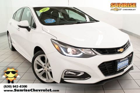 Certified Pre-Owned 2017 Chevrolet Cruze Premier With Navigation