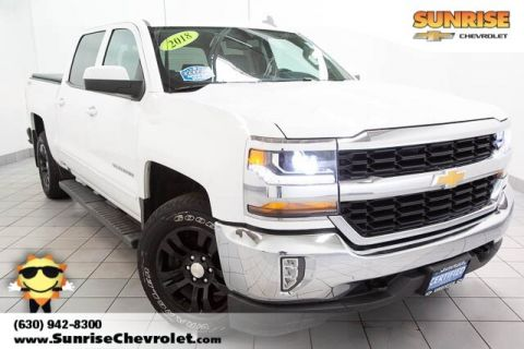 Certified Pre-Owned 2018 Chevrolet Silverado 1500 LT 4WD