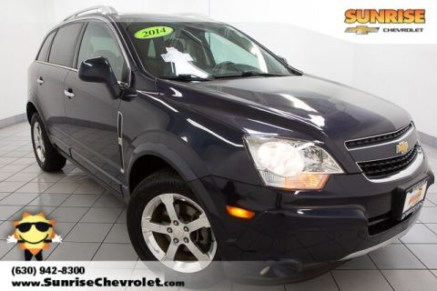 Certified Pre-Owned 2014 Chevrolet Captiva Sport LT FWD 4D Sport Utility