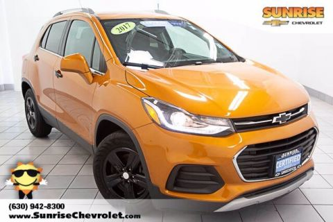 Certified Pre-Owned 2017 Chevrolet Trax LT FWD 4D Sport Utility