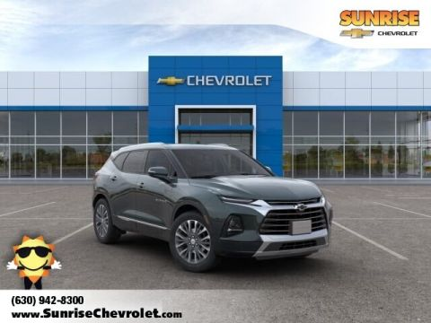 New 2019 Chevrolet Blazer Premier With Navigation