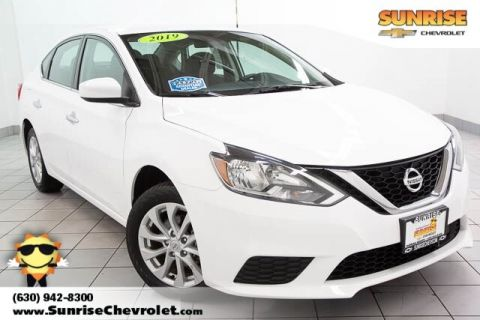 Pre-Owned 2019 Nissan Sentra SV FWD 4D Sedan