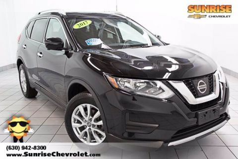 Pre-Owned 2017 Nissan Rogue SV With Navigation & AWD