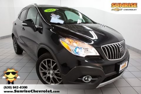 Certified Pre-Owned 2016 Buick Encore Sport Touring AWD