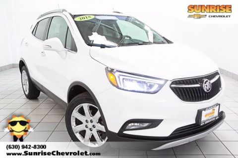 Certified Pre-Owned 2018 Buick Encore Essence With Navigation & AWD