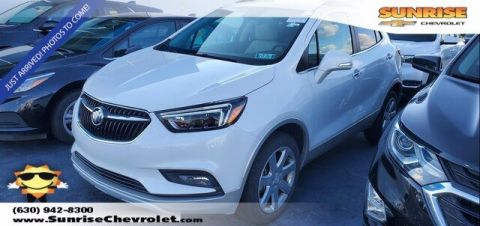 Certified Pre-Owned 2017 Buick Encore Essence With Navigation & AWD