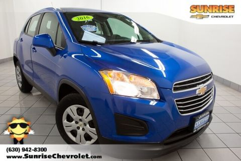 Certified Pre-Owned 2016 Chevrolet Trax LS FWD 4D Sport Utility
