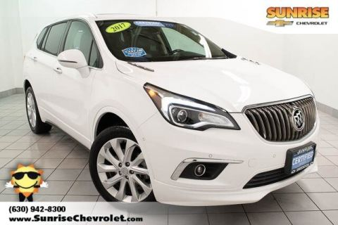 Certified Pre-Owned 2017 Buick Envision Premium II With Navigation & AWD