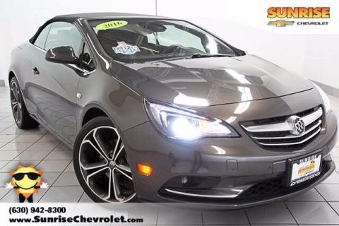 Certified Pre-Owned 2016 Buick Cascada Premium With Navigation